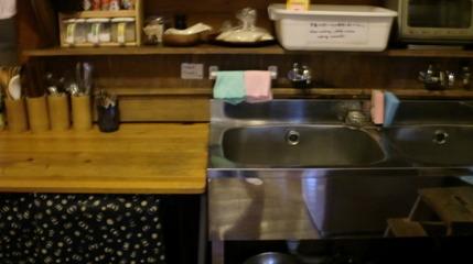共同キッチン。