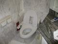 真っ白清潔トイレ。