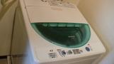 うれしい洗濯機。