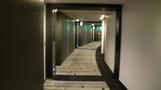 客室の廊下。