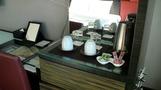 お茶セットも素敵。