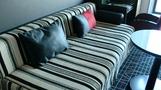 ソファーベッド。