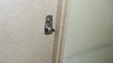 部屋のドア。
