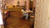 ホテルレストラン。