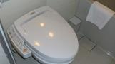 ピカピカのトイレ。