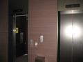 ロビー階のエレベーター。