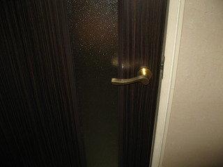 ドアのレバー。(ロビートイレ)