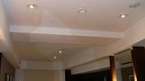 部屋の天井。