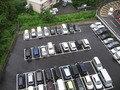 駐車場の様子。