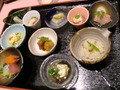 前菜小鉢。