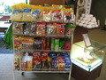 売店のお菓子。