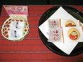 ウエルカム菓子。