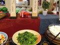 小松菜の胡麻和え。