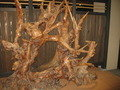 自然木のインテリア