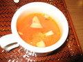 トマト系スープ