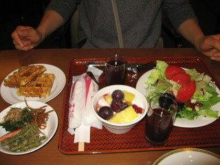 写真クチコミ:ヘルシー朝食。