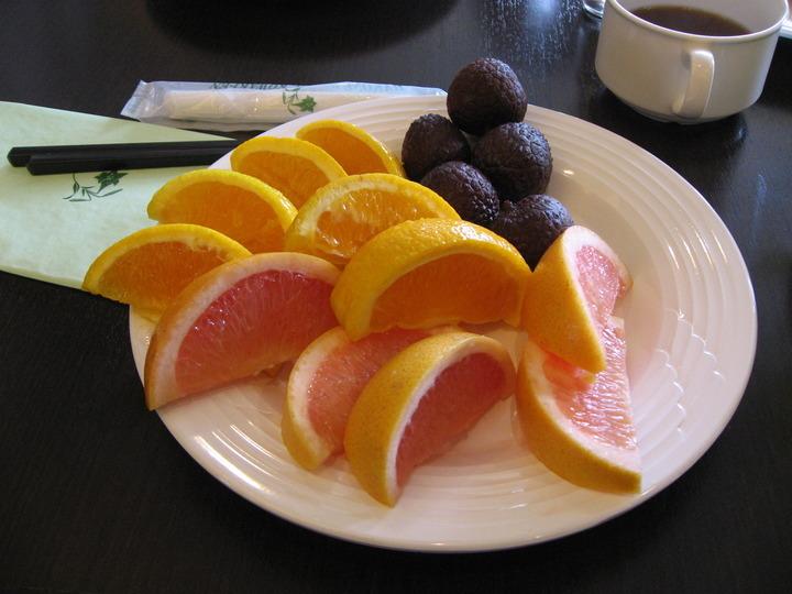 フルーツ3種。