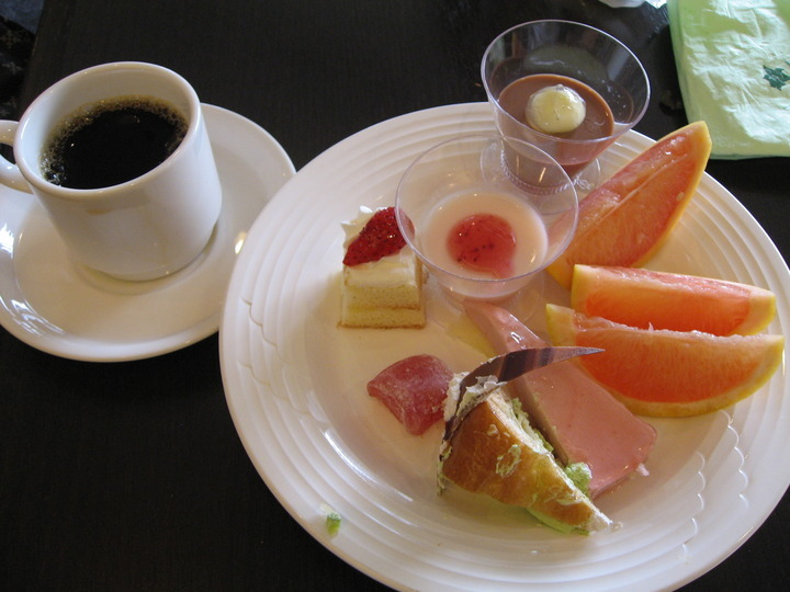 食後のデザート。