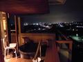 露天風呂付き部屋からの夜景!