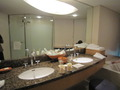 ビューバスルームの洗面所