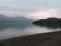十和田湖畔からの眺め
