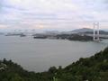 鷲羽山からの眺め