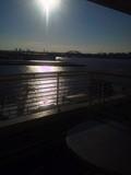 バルコニーからポートアイランドが良く見えます。