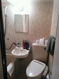 ユニットタイプのバスルーム。