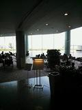 景色のすばらしいカフェ。