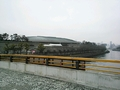 大阪城ホールが目の前。