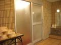 大浴場の出入り口