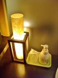 洗面台の明かり