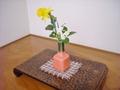 床の間の花