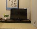 食事会場(個室)のテレビ