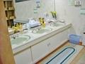 相染の湯(大浴場) 脱衣所の洗面台