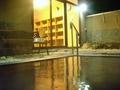 桑の湯(露天風呂)の湯船から