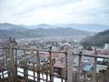 桑の湯(露天風呂)からの眺望 その1