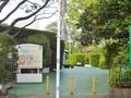 増上寺の横から近道
