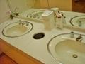 カフェ グランデのトイレの洗面台