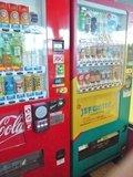 ジェフユナイテッド市原仕様の自動販売機