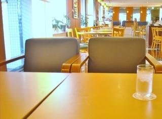 一番奥のテーブル