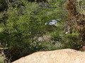 岩露天風呂からの眺望