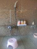 大浴場の洗い場