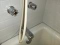 部屋のお風呂の蛇口です