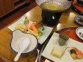 夕食の黒豚ハリハリ鍋です