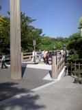 鳥羽ビューホテル花真珠を出て伊勢神宮へ参拝です