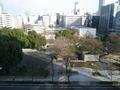 名古屋観光ホテルのお部屋の窓から
