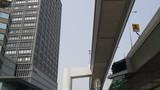 阪神高速の湊町出口付近