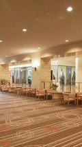 関西エアポートワシントンホテル 披露宴会場前のソファ