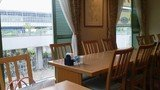 関西エアポートワシントンホテル内のレストラン奥の席